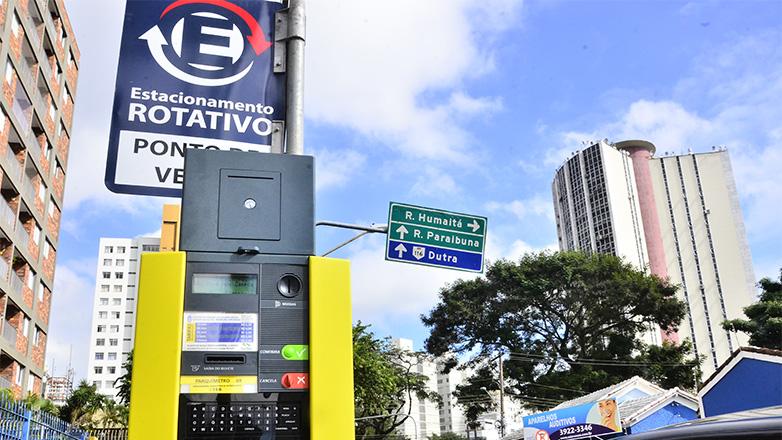 Zona Azul de São José custará R$ 2/hora a partir de 2020