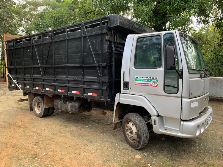 Prefeitura de Pinda realiza serviço de captura de animais de grande porte em vias públicas