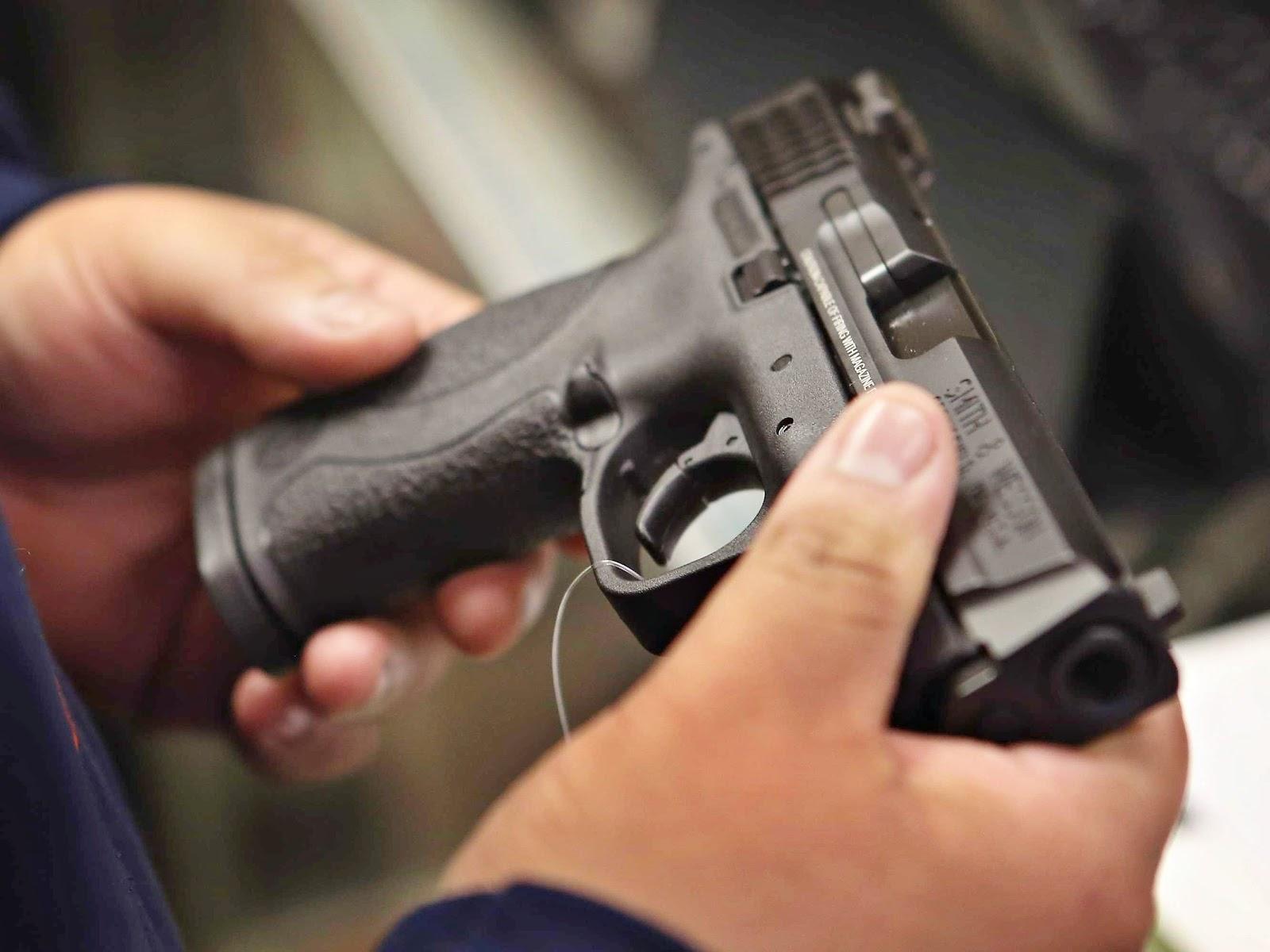Rio recebe 27 mil pistolas com recursos da intervenção federal
