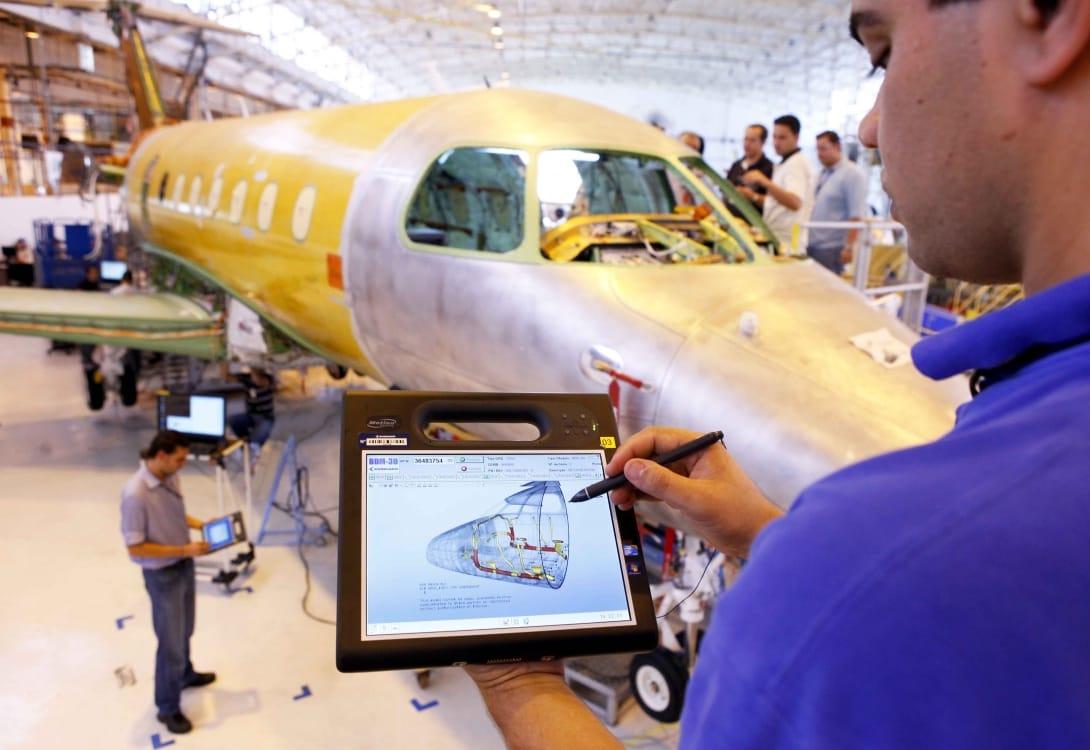 Exportação de aviões sobe 17,5% na região este ano