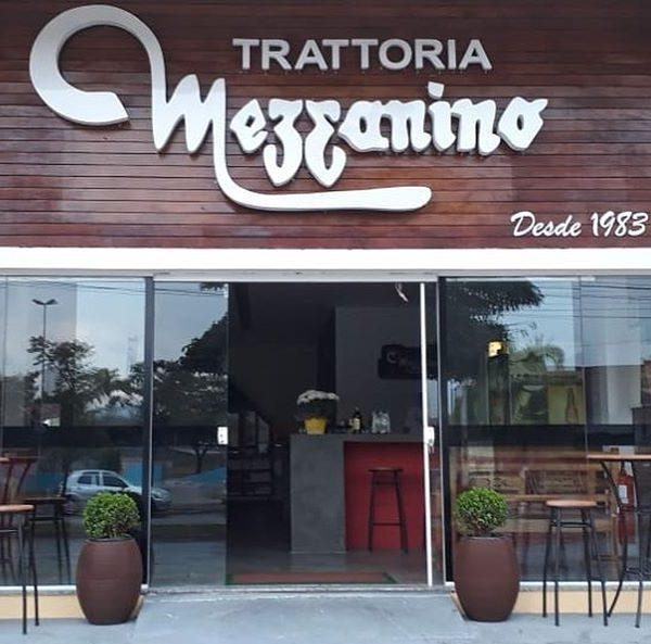 Trattoria Mezzanino novo endereço em São José dos Campos